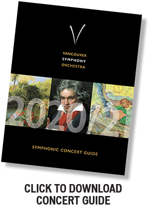 Vancouver Symphony Orchestra 2020-21 Program Guide